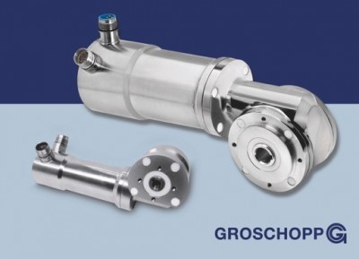 Edelstahl-Motoren für die Lebensmittelindustrie