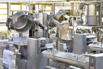 Antriebe für die Lebensmittelindustrie